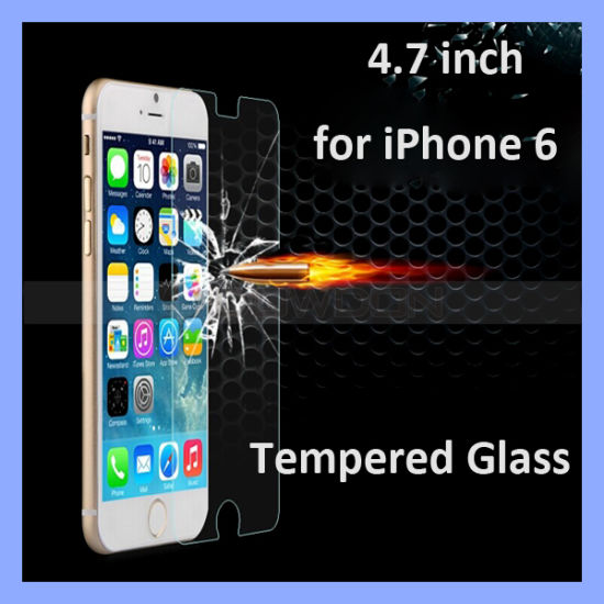 """0.26mm 2.5D Premium Tempered Glass Screen Protector for Apple iPhone 6 6 Plus (4.7""""/5.5"""") Screen Guard"""