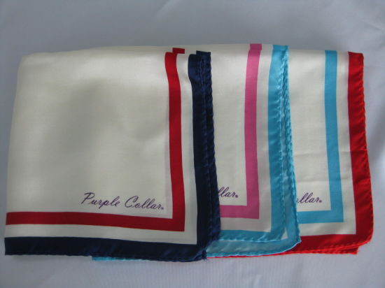 High Quality 100% Silk Satin Ladies Scarves