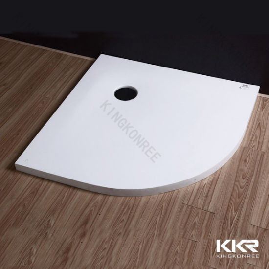 Kingkonree Artificial Stone Solid Surface Shower Tray