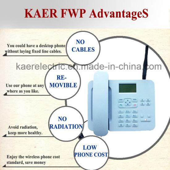 China GSM WCDMA Desktop Wireless Phone (KT1000(135)) - China