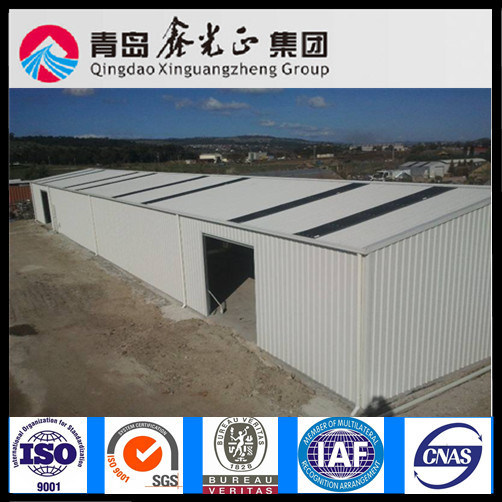 BV Certificated Prefabricated Steel Warehouse (SS-312)