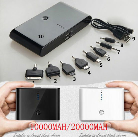 Mobile Travel Power Banks 10000mAh/20000mAh Directly From Professional Battery Factoy