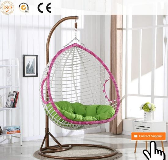2017 Chinese Hot Supply Indoor Bamboo Swing Chair Cane Hammock Hanging Pod