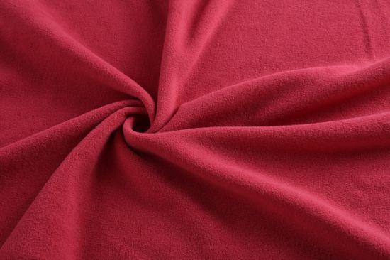 High Quality Custom Color 100% Polyester Anti-Pilling Double Brush Single Polar Fleece Fabric for Trouser & Scarves