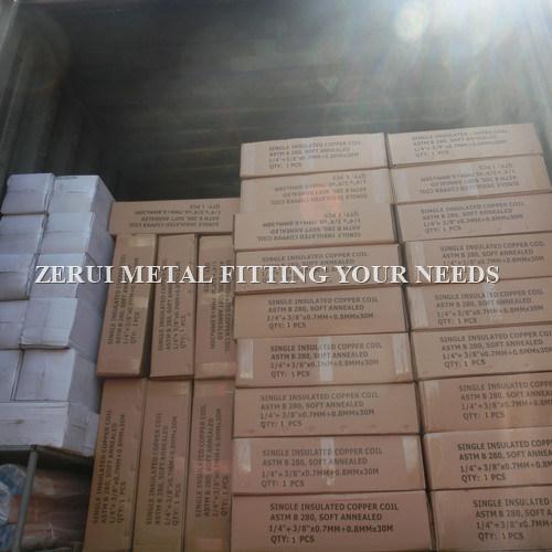 China Insulated Refrigeration Copper Line Set for R410A Air