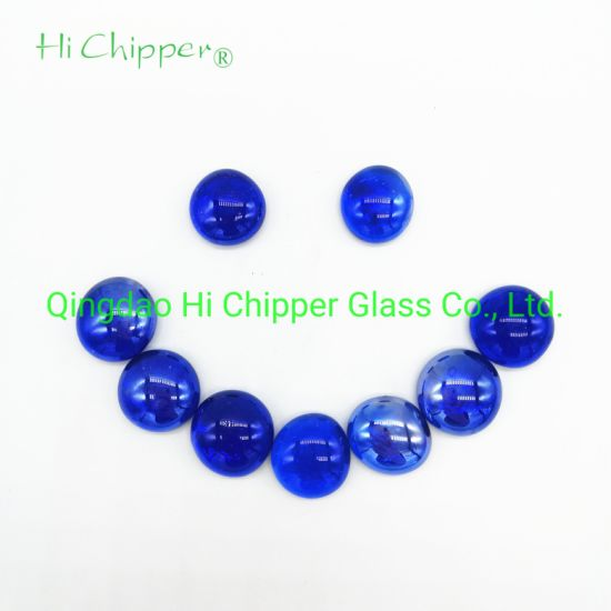 Wholesale China High Quality Home Decorative Flat Glass Pebbles Fire Pit Glass