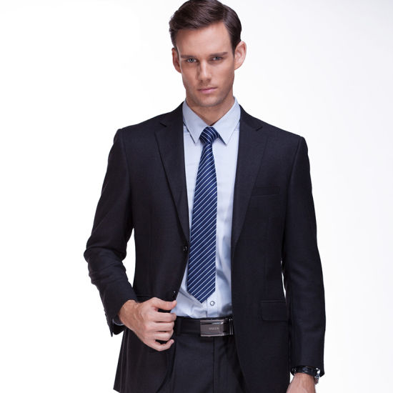 Hot Sell Polyester Fabric Bespoke Man Suit