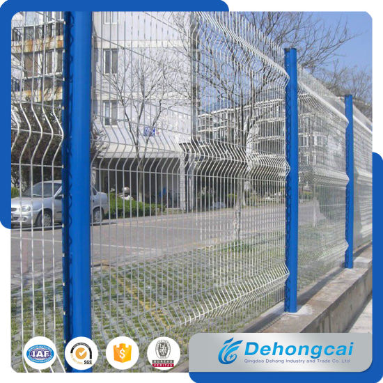 Powder Coated Welded Wire Mesh Fence Panel for Factory Exporter pictures & photos