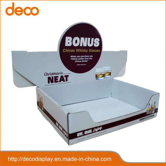 d51d239be Customized Paper Display Box Cardboard Counter Display for Promotion