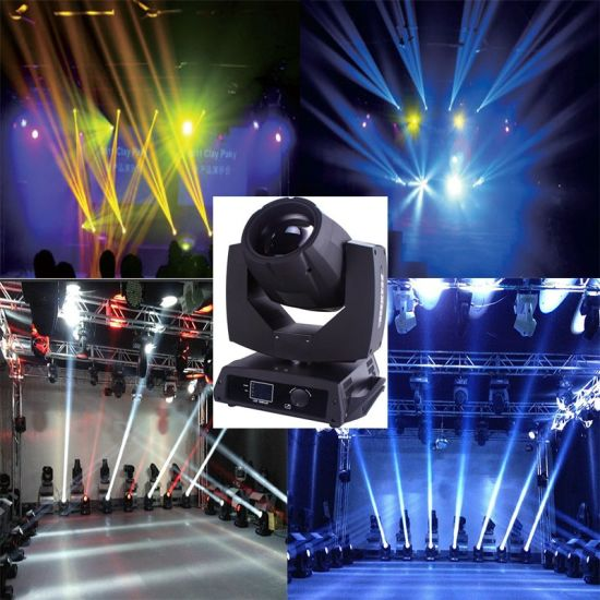 Rigeba Disco DJ Stage Best Selling 200W 5r Beam Stage Moving Head Light for Party Events