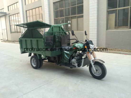 Garbage Tricycle / City Clearance Tricycle pictures & photos