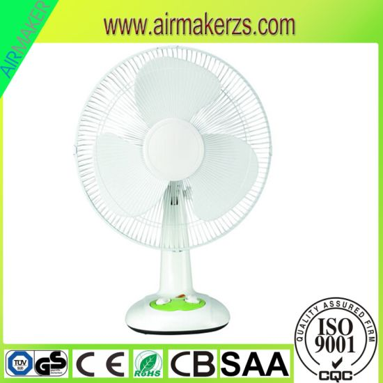 """12"""" High Cooling Efficiency AC Electric Table Fan with Ce/SAA/RoHS"""