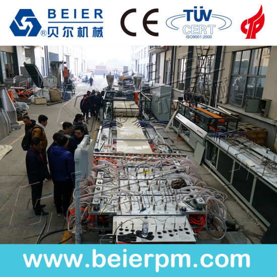 Plastic Extruder- PE/PP/PVC Window Profile/Ceiling/Board/Wall Panel/Sheet/ Pipe Extrusion Production Line