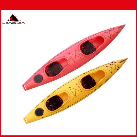 13FT LLDPE Material 3 Person Cheap Plastic Kayak Sit in Kayak