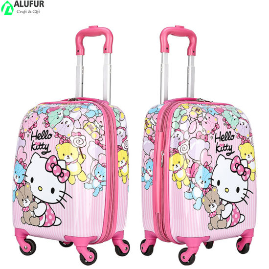 Printed Cute Children Kids Luggage Suitcase Expandable Luggage Set