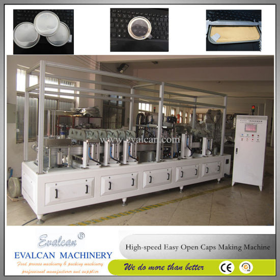Easy Tear Boiling Lids Making Machine pictures & photos