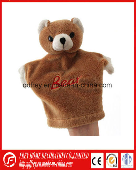 Hot Sale Baby Gift Toy for Plush Bear Hand Puppet Toy
