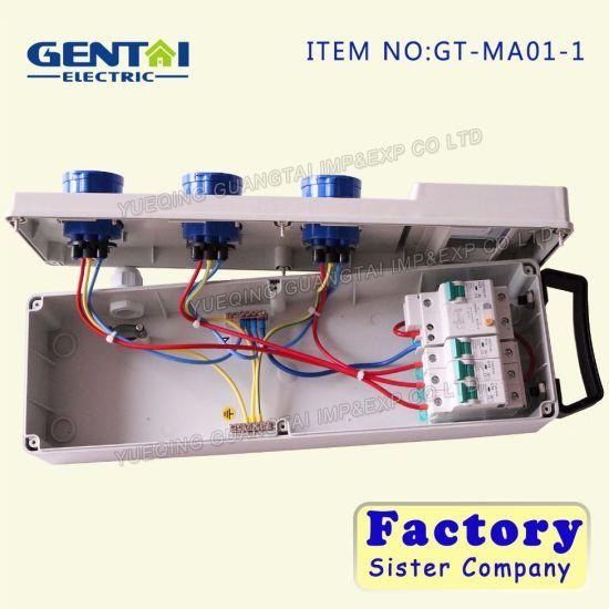 Fine China Ip44 2P E 3 Hole Sockets Box With 16A Circuit China Wiring Digital Resources Jebrpkbiperorg