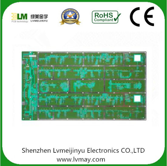 35um Copper Thickness PCB Electronic Product Rogers and Fr4 Mix Down