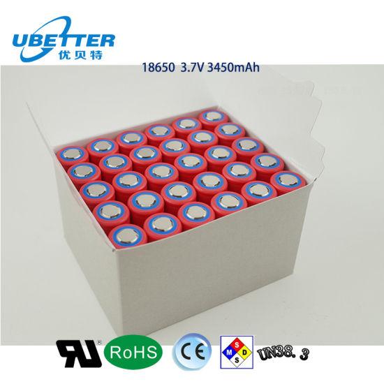 Bis 3.7V 2200mAh 1c Li-ion Battery 18650 Icr18650-22f