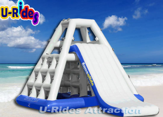 Inflatable Water Sports Game Tower with Slide pictures & photos