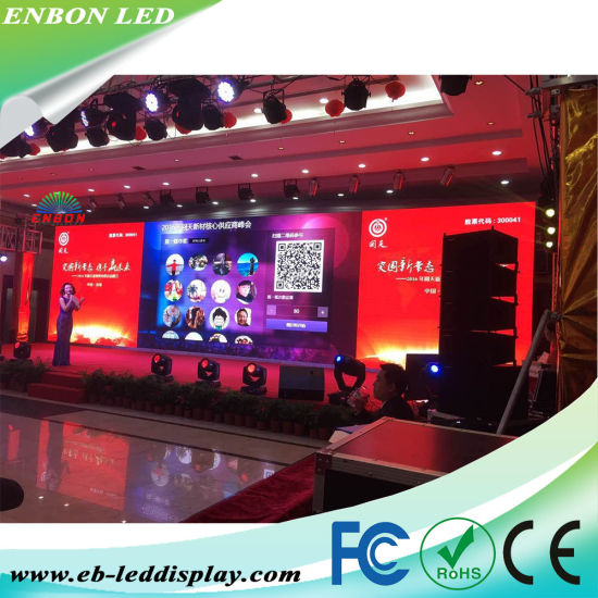 P3.91 HD Video Display Full Color LED Screen with Die Casting Cabinet