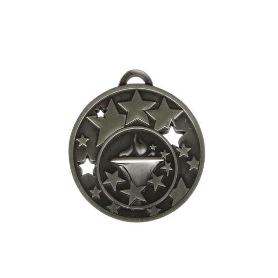 Custom Design Metal Zinc Alloy Embossed Logo Award Soccer