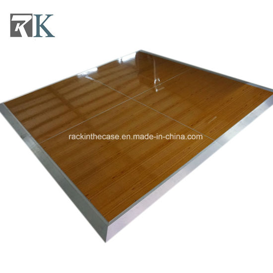 China Portable Performance Wooden Dance Floor For Event Wedding