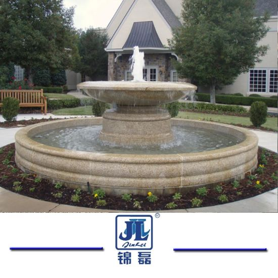 Natural Stones Granite/Marble Watering Stone Sculpture Fountain for Garden Decoration/Landscaping pictures & photos