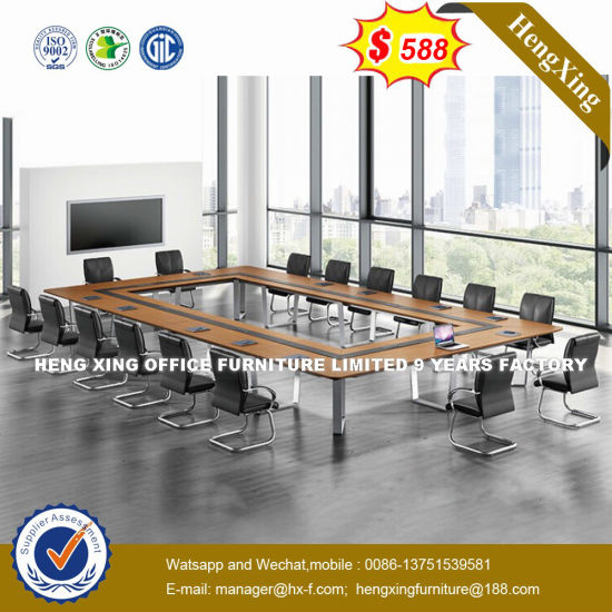 China Small MFC Square Latest Design Conference Table HXN - Small square office table