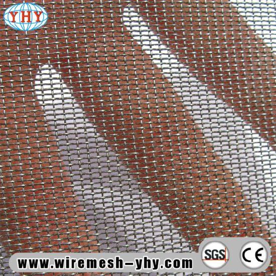 Powder Coated Paint Security Screen Door Stainless Steel Mesh