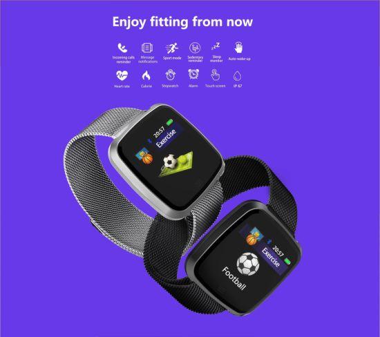 2021 Smart Watch G12 Sport Watch IP67 Wrist Watch Waterproof Nylon and Stainless Strap Gift Watches