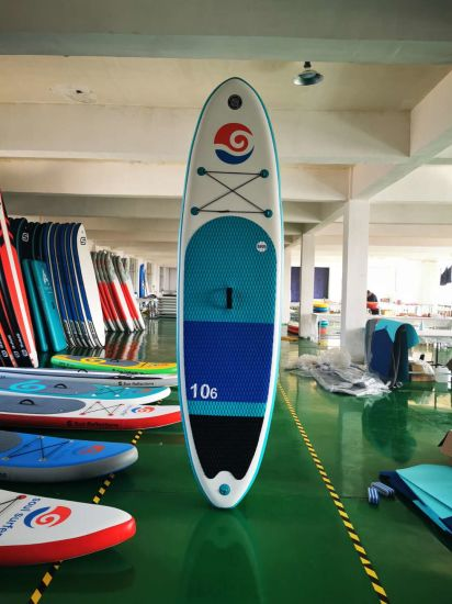 Customized Design Sup, Surfboard, Inflatable Sup, Paddle Board with Double Layer
