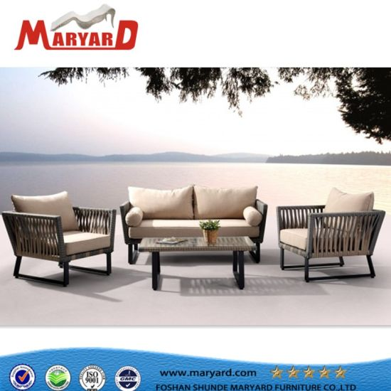 3b570c819d7e 2018 New Arrival Luxury Rope Sofa Sets Rope Outdoor Garden Furniture  pictures & photos