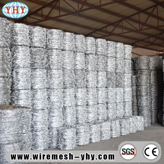 China Wholesale Galvanized Barb Wire Fencing for Field Fence - China ...