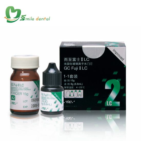 China Gc FUJI II LC (Improved) Light Cured Glass Ionomer
