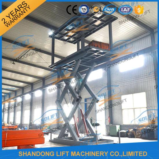 Hydraulic Garage Vertical Car Parking System