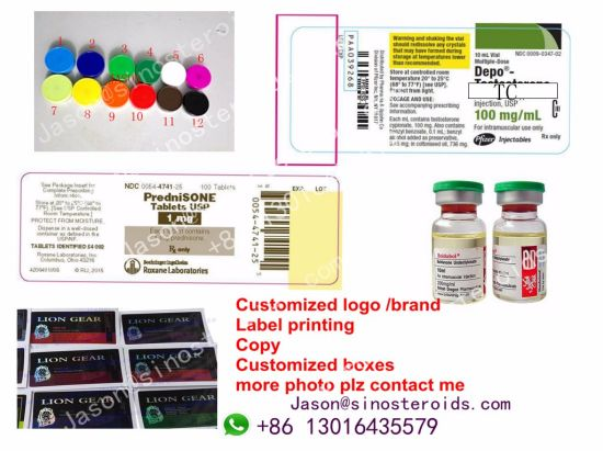 Customized Steroids Labels for Finished Steroids Vials Plastic Medicine Bottles Customized ~! ! pictures & photos
