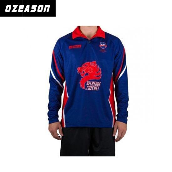 8328ba4a71b Best Quality New Design Sublimated Australian Cricket Team Jersey 2017