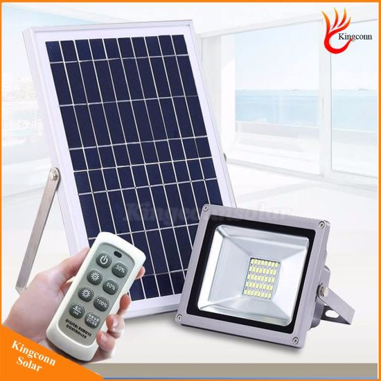 Outdoor Solar Led Lights Garden Light Floodlights With Remote Control