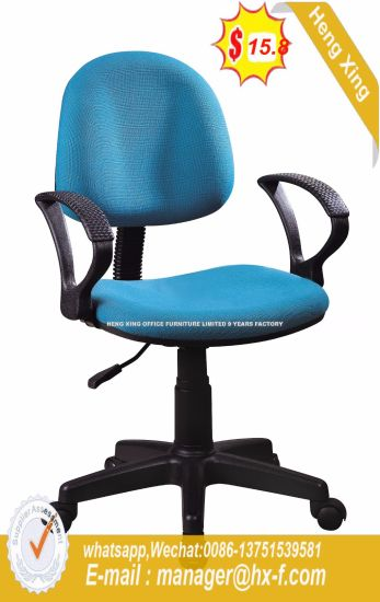 Small Back Swivel Wokstation Fabric Furniture Office Chair (HX-523) pictures & photos