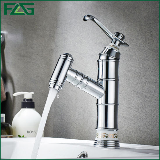 Flg Sanitary Ware Chrome Bathroom Faucet