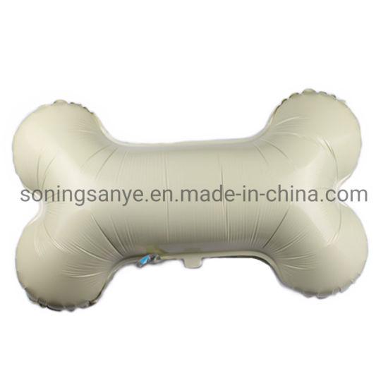 Dto0296 Good Quality Bone Shape Helium Balloon for Dog Theme Party Decoration