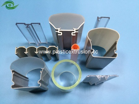 China Best Selling PVC Extrusion Profile Plastic Product