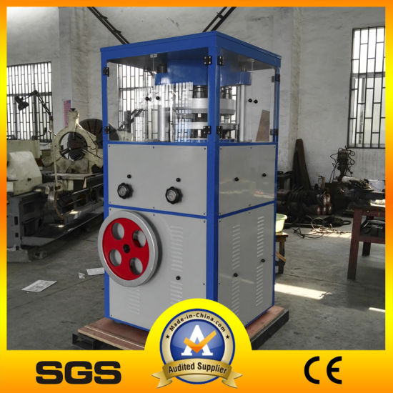 Animal Health Powder Pill Rotary Tablet Pressing Machine Factory pictures & photos