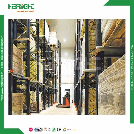 Chinese High Quality Industrial Warehouse Storage Push Back Pallet Racking From Storage Rack pictures & photos