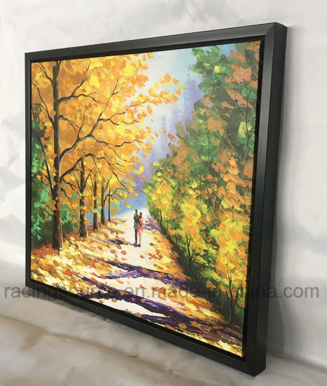 Framed wall art canvas prints acrylic paint landscape oil painting