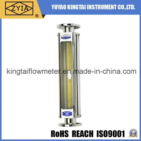 High Temperature Low Cost Chemical Glass Salt Water Flowmeter