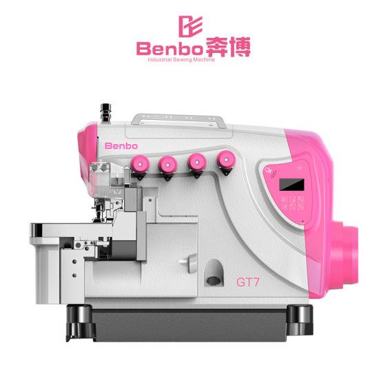New Intelligent High Speed Overlock Sewing Machine