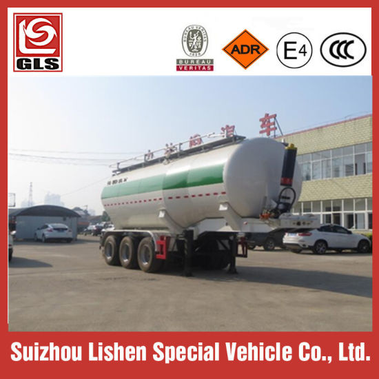 Steel Tanker Cement Bulk Carrier Trailer/Powder Material Tank Semi Trailer pictures & photos